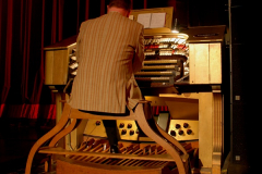 2019 March 16 Bournemouth Pavilion Theatre 90 Years. (46A) The Compton Organ in action. 046A