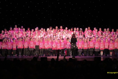 2019 March 16 Bournemouth Pavilion Theatre 90 Years. (48) Local school choirs. 048