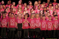 2019 March 16 Bournemouth Pavilion Theatre 90 Years. (50) Local school choirs. 050