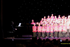 2019 March 16 Bournemouth Pavilion Theatre 90 Years. (51) Local school choirs. 051