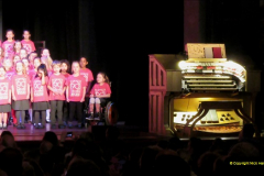 2019 March 16 Bournemouth Pavilion Theatre 90 Years. (52) Local school choirs. 052