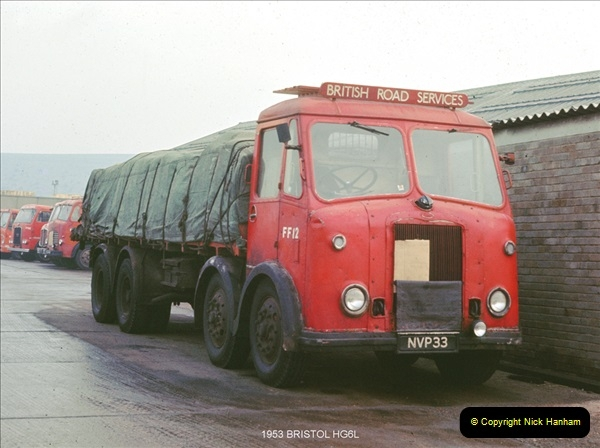 British Road Services 1950s and 1960s