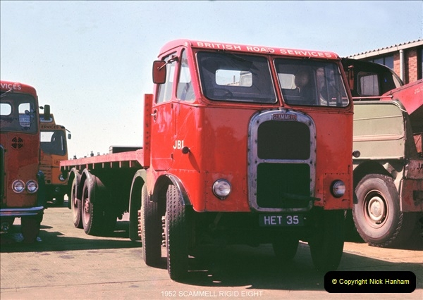 BRS vehicles 1950s and 1960s.  (10) 010