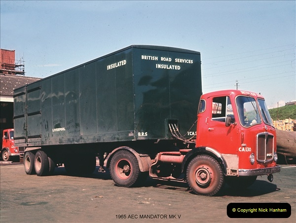 BRS vehicles 1950s and 1960s.  (100) 100
