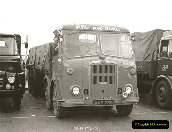 BRS vehicles 1950s and 1960s.  (15) 015