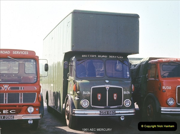 BRS vehicles 1950s and 1960s.  (16) 016