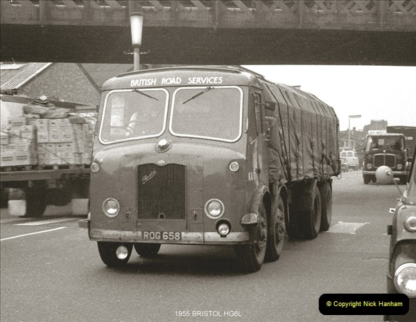 BRS vehicles 1950s and 1960s.  (17) 017