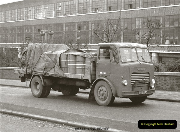 BRS vehicles 1950s and 1960s.  (23) 023