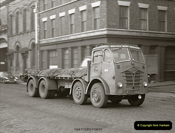 BRS vehicles 1950s and 1960s.  (24) 024