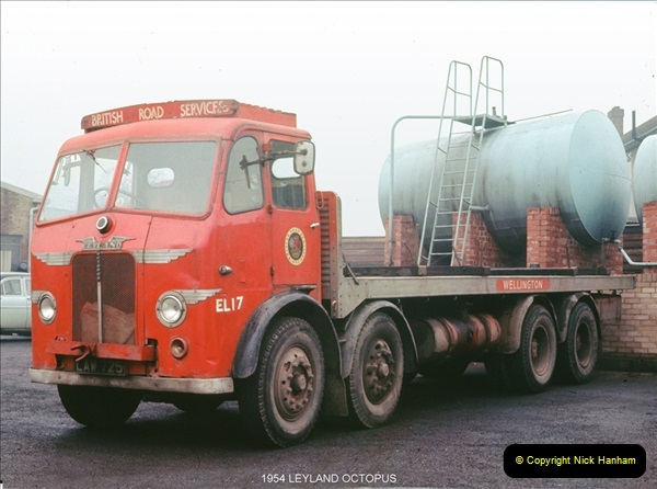 BRS vehicles 1950s and 1960s.  (25) 025