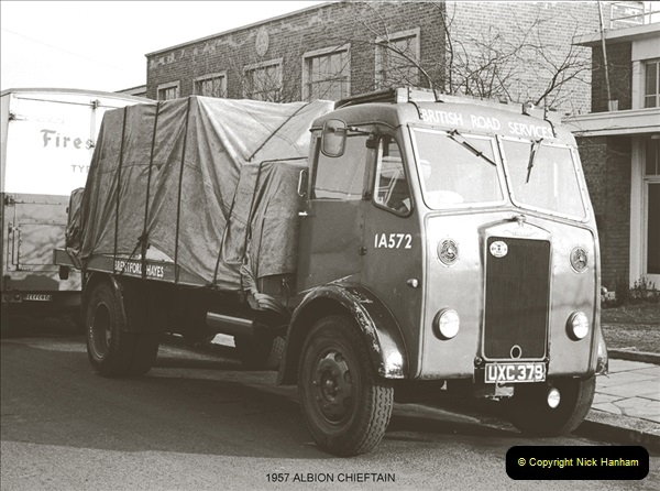 BRS vehicles 1950s and 1960s.  (3) 003