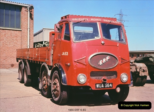 BRS vehicles 1950s and 1960s.  (31) 031