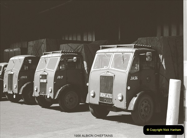 BRS vehicles 1950s and 1960s.  (35) 035