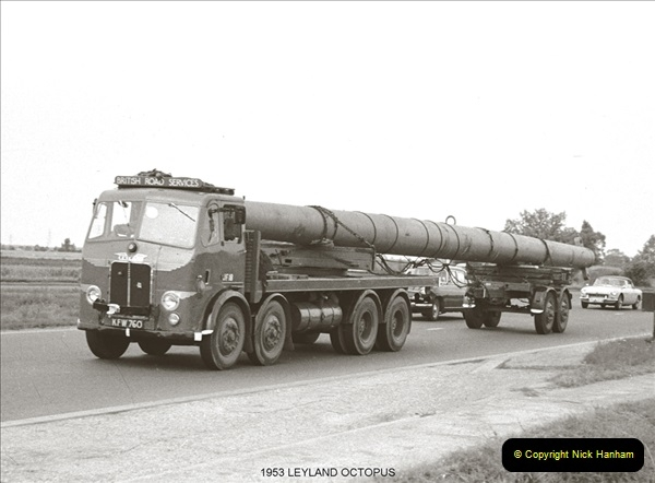 BRS vehicles 1950s and 1960s.  (36) 036