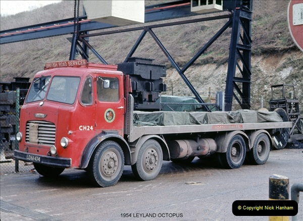 BRS vehicles 1950s and 1960s.  (4) 004