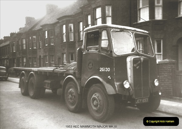 BRS vehicles 1950s and 1960s.  (54) 054