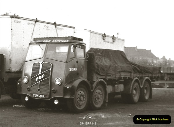 BRS vehicles 1950s and 1960s.  (6) 006