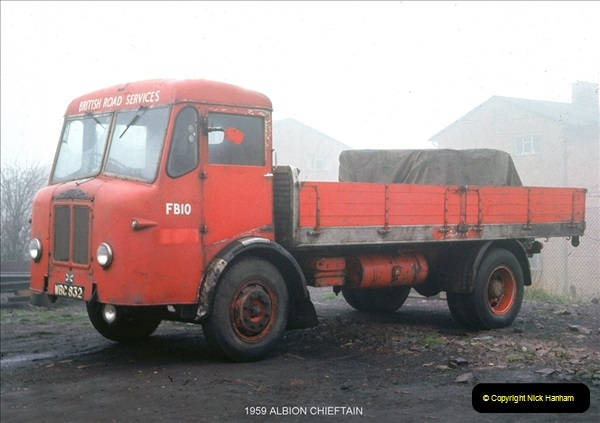 BRS vehicles 1950s and 1960s.  (61) 061