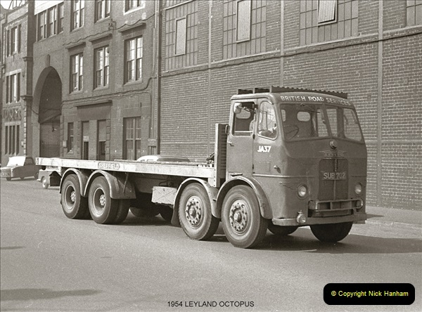 BRS vehicles 1950s and 1960s.  (62) 062
