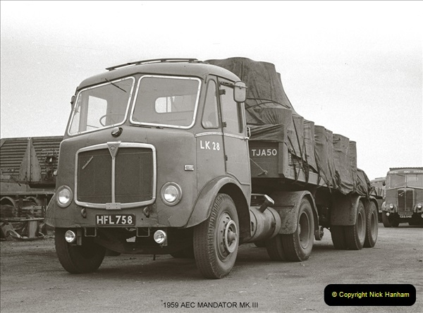 BRS vehicles 1950s and 1960s.  (63) 063