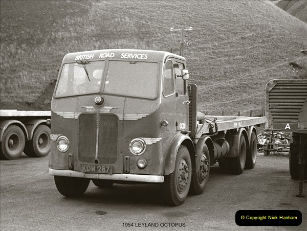 BRS vehicles 1950s and 1960s.  (65) 065