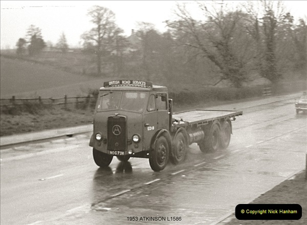 BRS vehicles 1950s and 1960s.  (68) 068