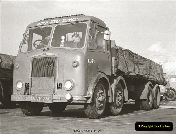 BRS vehicles 1950s and 1960s.  (69) 069