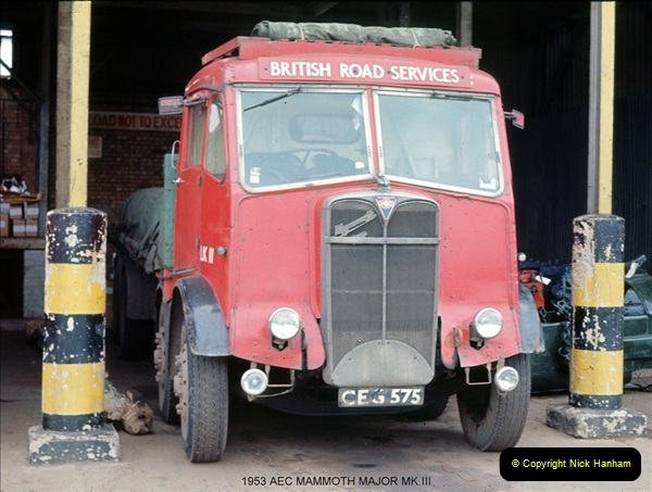 BRS vehicles 1950s and 1960s.  (7) 007