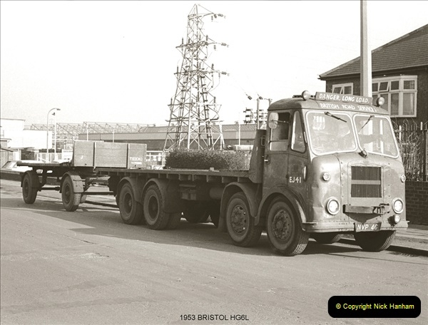 BRS vehicles 1950s and 1960s.  (71) 071