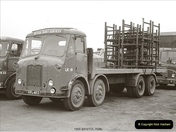 BRS vehicles 1950s and 1960s.  (77) 077