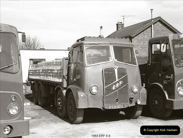 BRS vehicles 1950s and 1960s.  (8) 008
