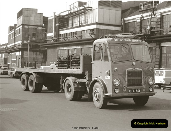 BRS vehicles 1950s and 1960s.  (81) 081
