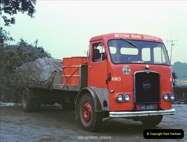 BRS vehicles 1950s and 1960s.  (82) 082