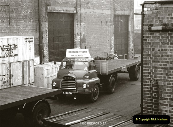 BRS vehicles 1950s and 1960s.  (84) 084
