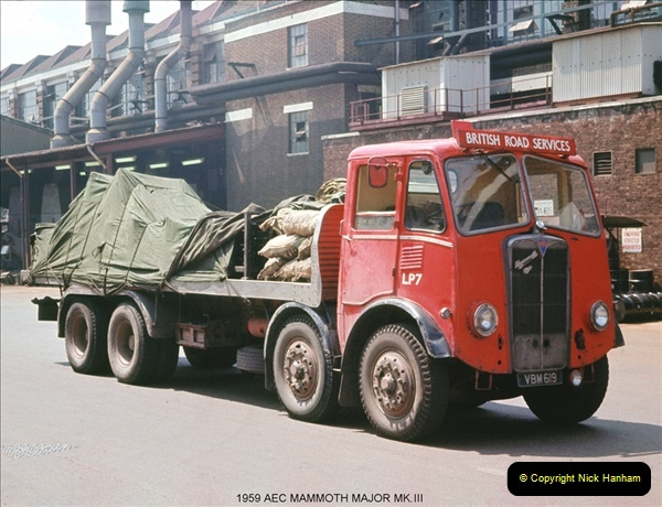 BRS vehicles 1950s and 1960s.  (85) 085