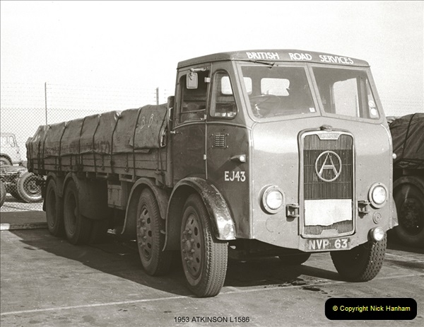 BRS vehicles 1950s and 1960s.  (86) 086
