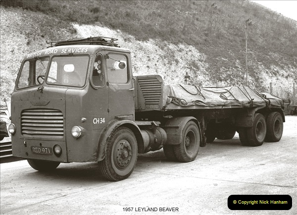 BRS vehicles 1950s and 1960s.  (87) 087