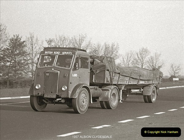 BRS vehicles 1950s and 1960s.  (9) 009
