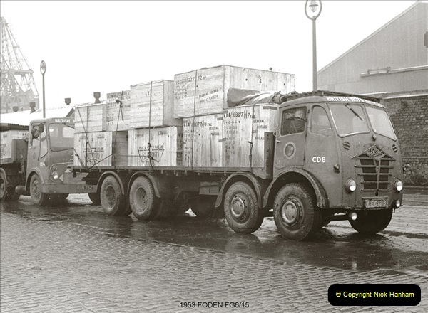 BRS vehicles 1950s and 1960s.  (90) 090