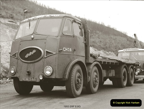 BRS vehicles 1950s and 1960s.  (92) 092