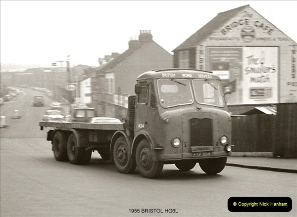 BRS vehicles 1950s and 1960s.  (93) 093