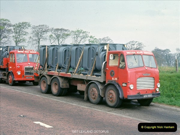 BRS vehicles 1950s and 1960s.  (94) 094