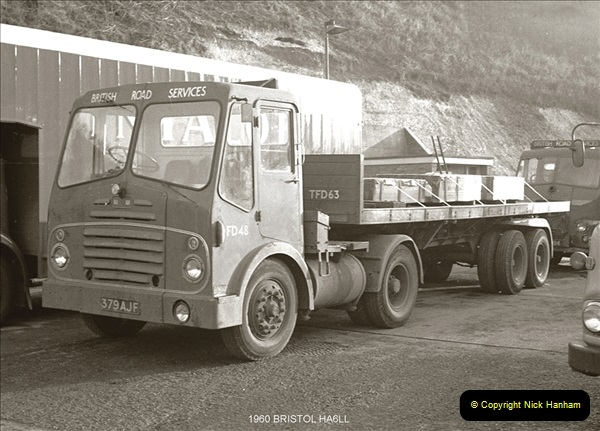 BRS vehicles 1950s and 1960s.  (98) 098