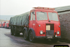 BRS vehicles 1950s and 1960s.  (1) 001