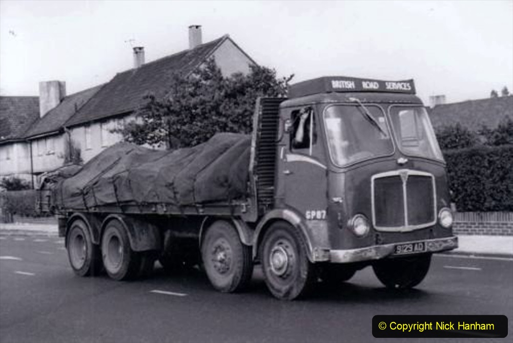 BRS vehicles 1950s and 1960s. (136) 136