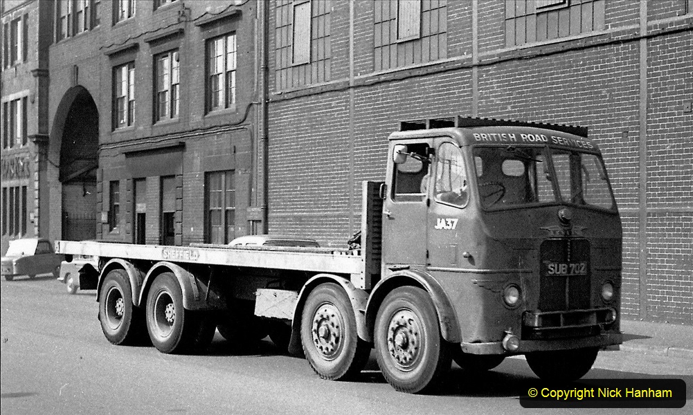 BRS vehicles 1950s and 1960s. (138) 138