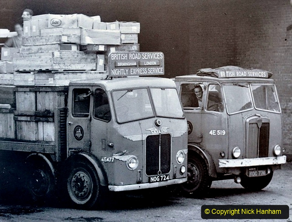 BRS vehicles 1950s and 1960s. (149) 149