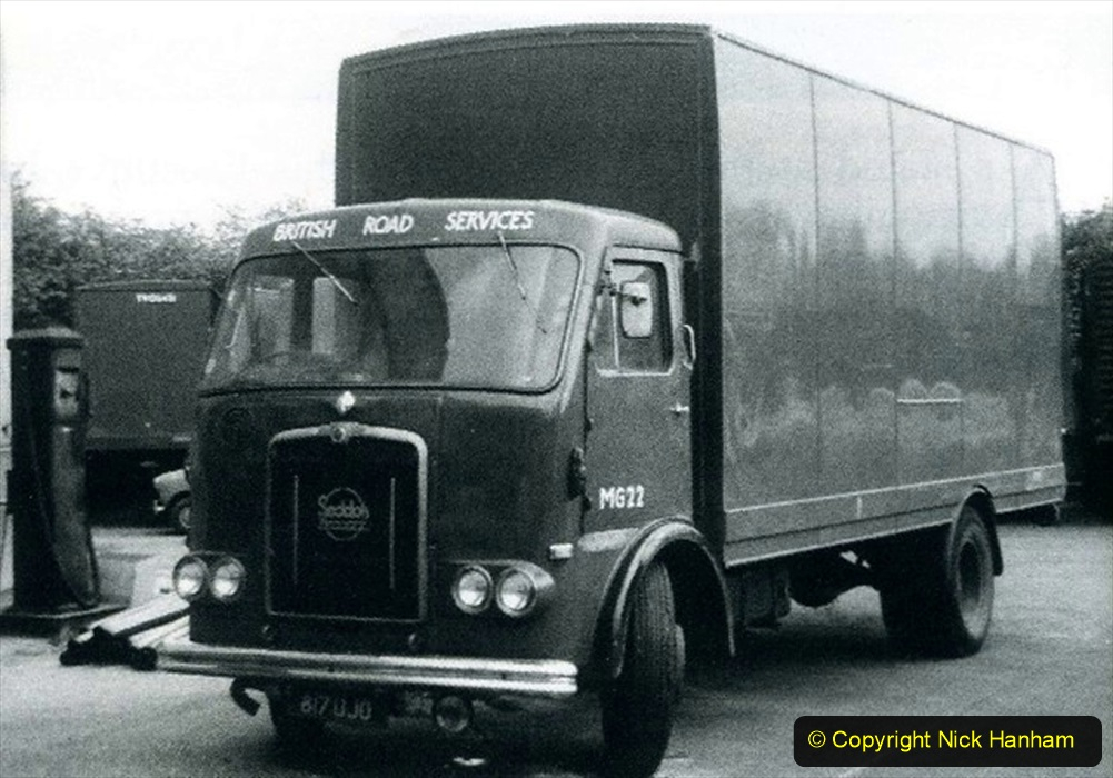 BRS vehicles 1950s and 1960s. (156) 156