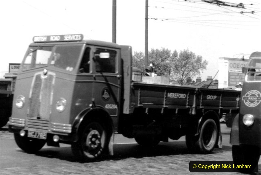 BRS vehicles 1950s and 1960s. (158) 158