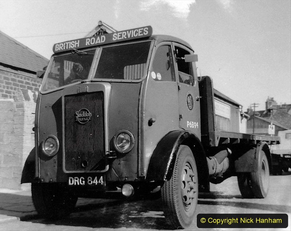 BRS vehicles 1950s and 1960s. (160) 160